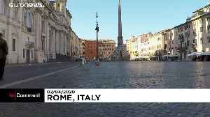 Coronavirus in Europe: Travelling around empty Rome on lockdown [Video]