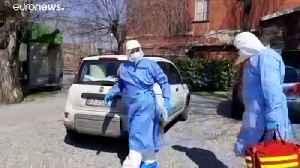 Italian doctor treats coronavirus patients at home [Video]