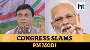 'Lighting diyas not enough': Congress attacks PM Modi over his latest speech [Video]
