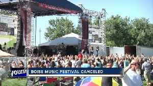 Boise Music Festival canceled this year [Video]