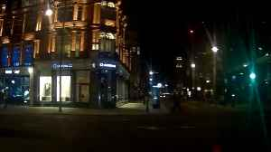 Time lapse of London's empty streets by night