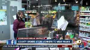 County orders store workers to wear masks [Video]