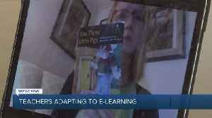 Teachers adjust to e-learning during COVID-19 crisis [Video]