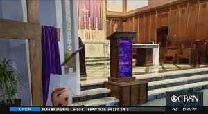 Coronavirus Shutdown: Catholics Around Boston Find Ways To Support Parishes [Video]