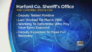 Harford Co. Sheriff's Office Reports First COVID-19 Case [Video]