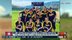CIF officially cancels spring sports season [Video]