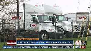 Employees claim trucking company isn't protecting them [Video]