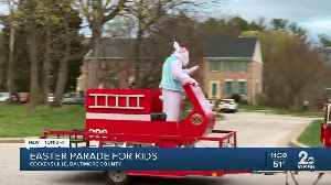 Easter Parade held for kids in Cockeysville [Video]