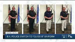 "Broken Arrow Police Switch to ""Class B"" Uniforms [Video]"