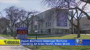 Zoom Bombers Interrupt Remote Learning At Niles North, Niles West [Video]
