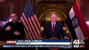 Missouri Gov. Parson issues statewide stay-at-home order [Video]