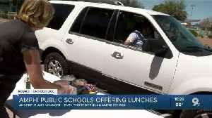 Amphi offers meals to students during school closure [Video]
