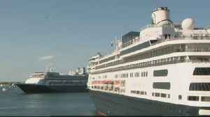 Coronavirus Woes Beset Cruise Ship Passengers and Crew on East and West Coasts [Video]