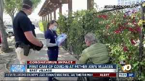 First COVID-19 case reported at Father Joe's Villages [Video]