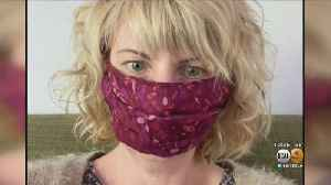 Eagle Rock Clothing Designer Uses Talents To Sew Face Masks In Wake Of Coronavirus Pandemic [Video]