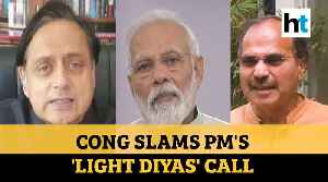 'Scientific challenges not addressed': Congress slams PM Modi's light diya call [Video]