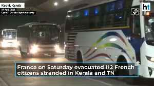 COVID-19 | France evacuated 112 citizens stranded in India amid lockdown [Video]