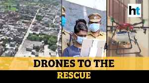 How India is using drones for sanitization & making lockdown a success [Video]