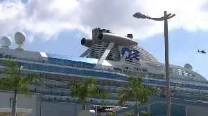 Another cruise ship with virus victims docking in Florida [Video]