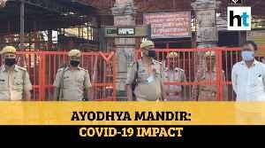 Ram Mandir: Watch Coronavirus pandemic's impact on Ayodhya temple construction [Video]