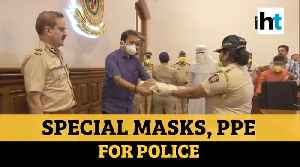 PPE, masks for Police: Maharashtra Home Minister distributes safety equipment [Video]