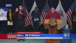 Illinois Coronavirus Cases Surpass 10,000 [Video]