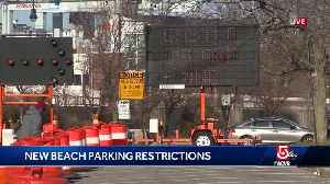 First full day of DCR beach parking restrictions [Video]