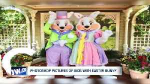 Photoshop pictures of your children with the Easter bunny for free [Video]