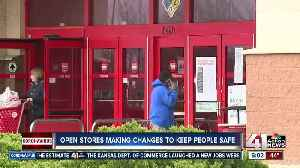 Open stores make changes to keep customers safe [Video]