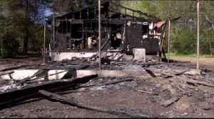 Chickamauga House Fire [Video]