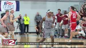 Colgate's Burns to declare for NBA Draft [Video]