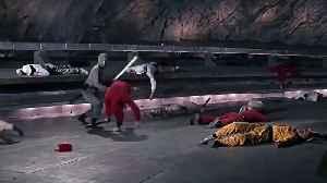 James Bond YOU ONLY LIVE TWICE movie clip - Ninja scene [Video]