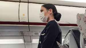 Flight Attendants Worry About Spreading COVID-19 During Flights [Video]