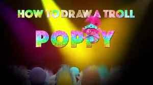 TROLLS 2 WORLD TOUR Film - How to Draw POPPY - Tutorial [Video]
