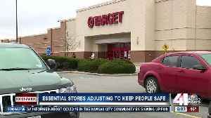 Essential stores adjust to keep customers safe [Video]