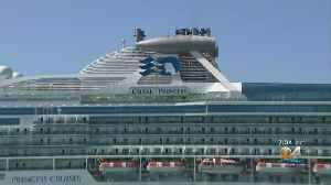 The Coral Princess Cruise Ship Docks At Port Miami With Coronavirus Victims [Video]