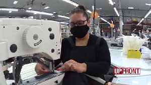 Company goes from mascots to masks [Video]