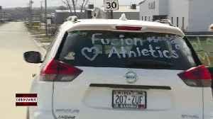 Fusion Athletics throw car parade [Video]