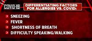 Allergies or COVID-19? [Video]