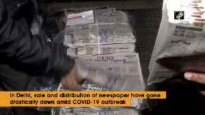 Newspaper sale falls drastically amid coronavirus lockdown [Video]