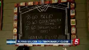 Flying Saucer temporarily closes due to COVID-19 pandemic [Video]