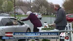 Organizations handing out palms for Sunday service [Video]
