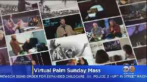COVID-19: Millions Of Christians Nationwide To Tune Into Palm Sunday Services Online [Video]