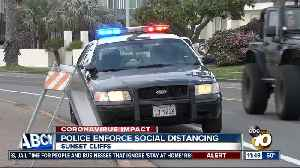 Police crack down on social distancing [Video]