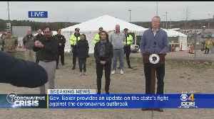 Gov. Charlie Baker Provides Update On Massachusetts Coronavirus Response [Video]