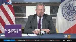 Coronavirus Update: Mayor Bill de Blasio Briefing Of Response In NYC [Video]