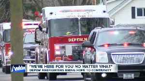 Depew Firefighters bring smiles and hope to the community [Video]