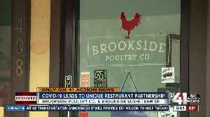 COVID-19 brings unique restaurant partnership to Brookside [Video]