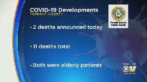 Coronavirus In Texas: Updated Numbers In North Texas Sunday [Video]