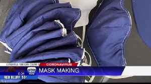 People creating masks amid coronavirus outbreak [Video]